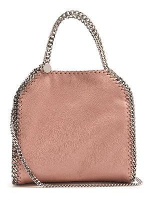 Stella McCartney Falabella mini faux suede cross-body bag