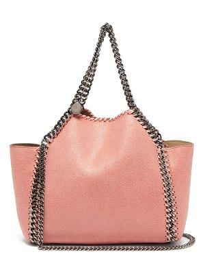 Stella McCartney Falabella mini faux-suede reversible tote bag