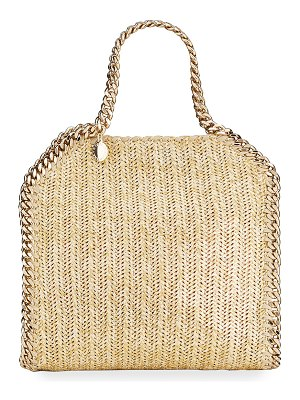 Stella McCartney Falabella Mini Metallic Fabric Tote Bag