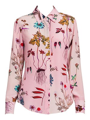 Stella McCartney floral-print silk blouse