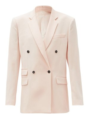 Stella McCartney holden double-breasted wool jacket