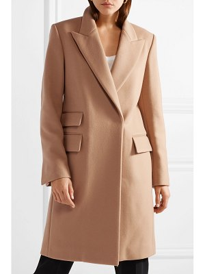 Stella McCartney melton wool-blend coat