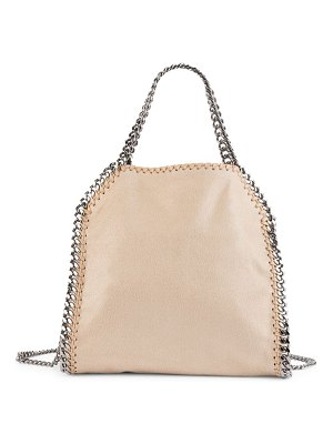 Stella McCartney mini falabella shaggy deer tote