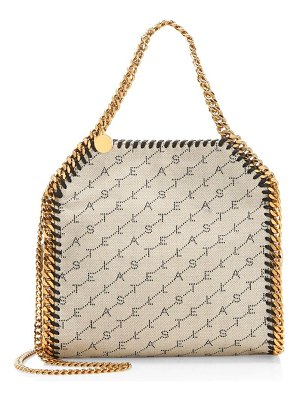 Stella McCartney mini falabella canvas tote