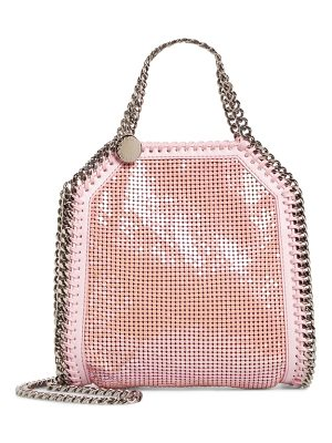 STELLA MCCARTNEY Mini Falabella Metal Mesh Tote