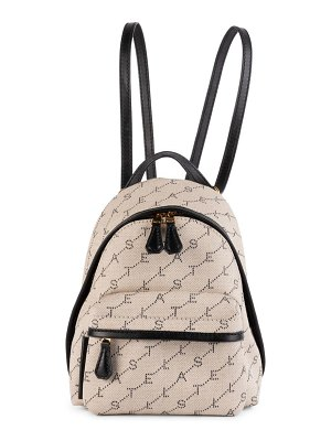 Stella McCartney mini monogram backpack