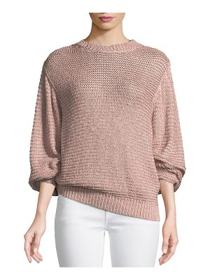 Stella McCartney Oversized Shaker Knit Sweater