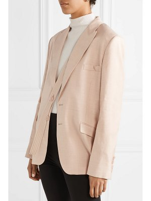 Stella McCartney oversized woven blazer