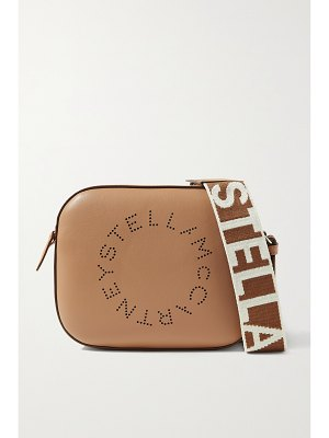 Stella McCartney perforated faux leather camera bag