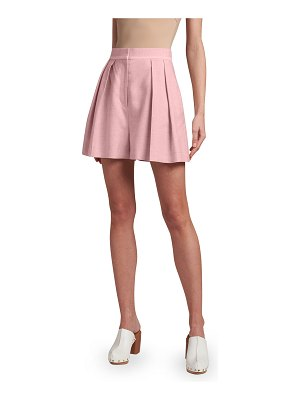 Stella McCartney Pleated Loose-Fit Shorts