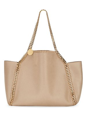 Stella McCartney falabella shaggy deer reversible tote