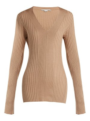 Stella McCartney Stella Mccartney - Ribbed V Neck Sweater