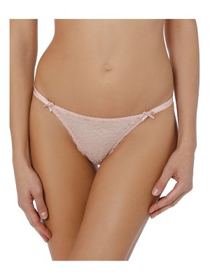 Stella McCartney Ruby Roaring Lace Thong