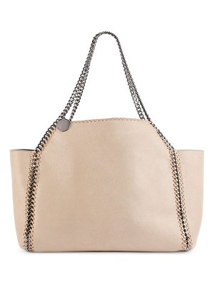 Stella McCartney shaggy leather tote