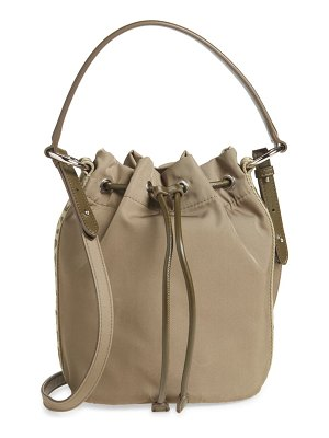 Stella McCartney small eco nylon bucket bag
