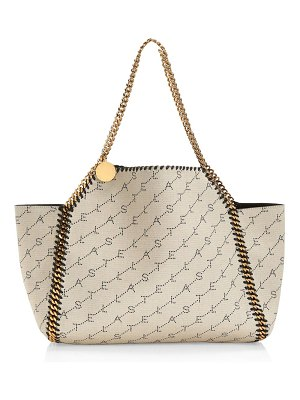 Stella McCartney small falabella canvas tote bag