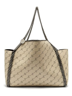 Stella McCartney Stella Mccartney - Falabella Logo Canvas Tote