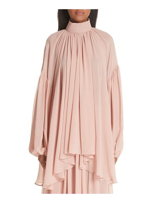 Stella McCartney tanya gathered silk top