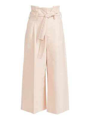 Stella McCartney technical tied paperbag trousers