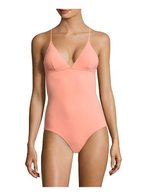 STELLA MCCARTNEY Timeless Basics One-Piece Swimsuit