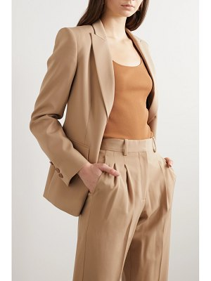 Stella McCartney wool-blend twill blazer