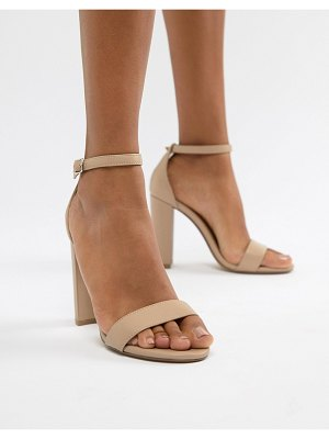 Steve Madden carson leather blush pink heeled sandals