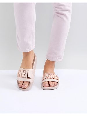 Steve Madden Girl Power Flat Sliders