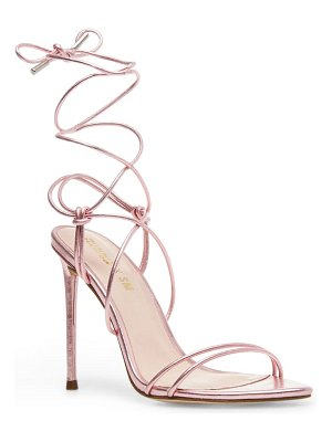 Steve Madden winnie harlow x  badgirl ankle wrap stiletto sandal