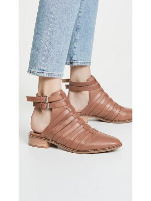 Steven charlot ankle strap booties