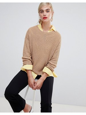 Stradivarius basic knitted sweater