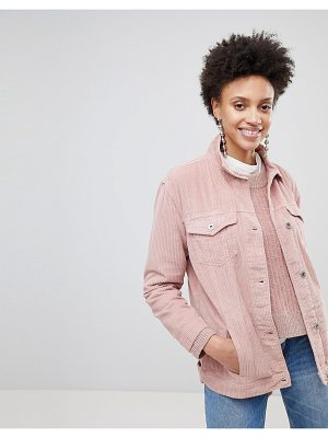 Stradivarius Cord Trucker Jacket