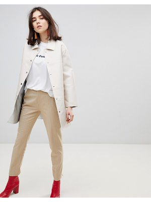 Stradivarius relaxed peg leg pants