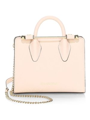 STRATHBERRY mini leather crossbody tote