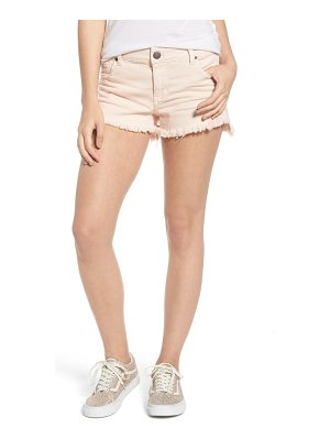 STS Blue step hem denim shorts