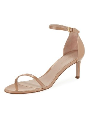 STUART WEITZMAN 45nudist Gloss Naked City Sandal