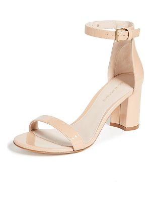 Stuart Weitzman 75mm less nudist sandals