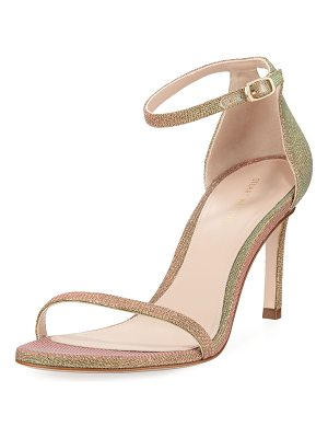 Stuart Weitzman 75NUDISTTRADITIONAL Night Time Naked Sandals