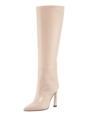 Stuart Weitzman Aces Luxe Leather Knee Boots
