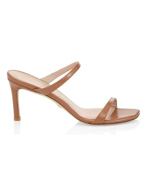 Stuart Weitzman aleena leather mules