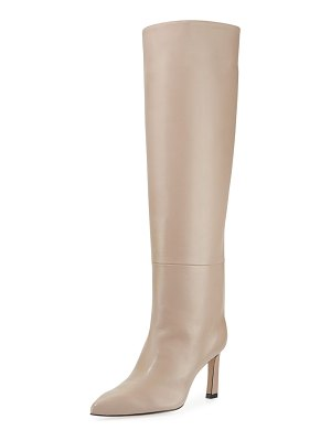 Stuart Weitzman Emiline 75mm Leather Knee Boots