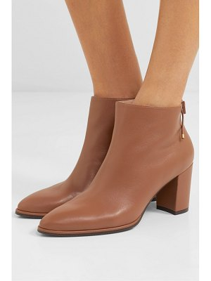 Stuart Weitzman gardiner leather ankle boots