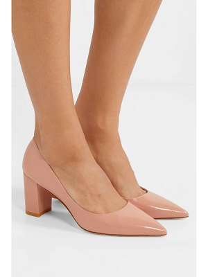 Stuart Weitzman laney textured-leather pumps