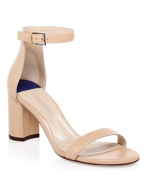 Stuart Weitzman 75lessnudist leather ankle-strap sandals