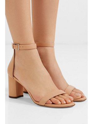 Stuart Weitzman lessnudist leather sandals