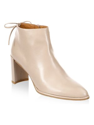 STUART WEITZMAN Lofty Leather Booties