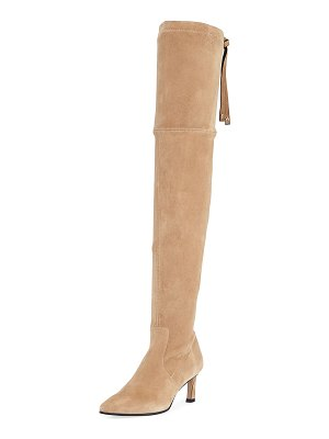 Stuart Weitzman Natalia 55mm Suede Over-The-Knee Boots