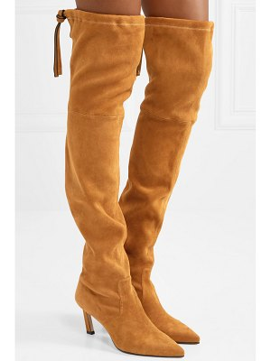 Stuart Weitzman natalia suede over-the-knee boots