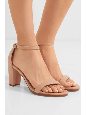 Stuart Weitzman nearlynude leather sandals