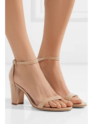 Stuart Weitzman nearlynude patent-leather sandals