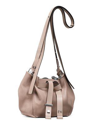 Stuart Weitzman Twist Drawstring Crossbody
